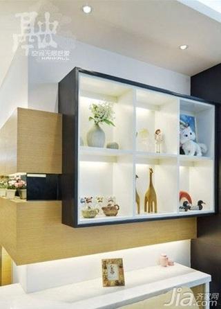 简约风格二居室10-15万90平米新房家装图片