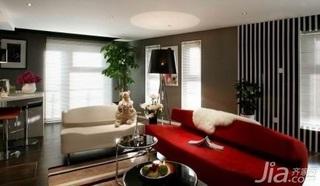 简约风格跃层5-10万70平米客厅沙发新房家装图片