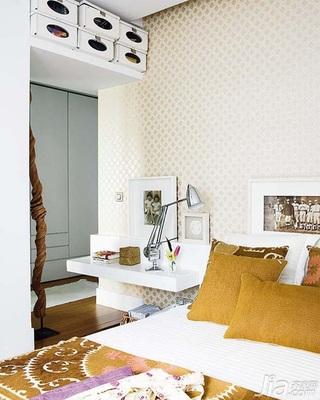 简约风格二居室5-10万60平米卧室梳妆台效果图