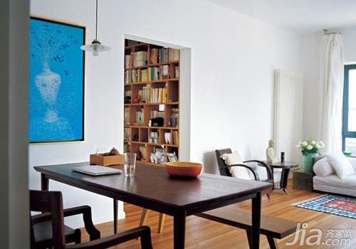 简约风格二居室5-10万70平米书桌图片