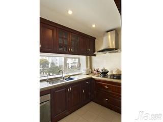 简约风格别墅豪华型140平米以上厨房橱柜新房家装图片