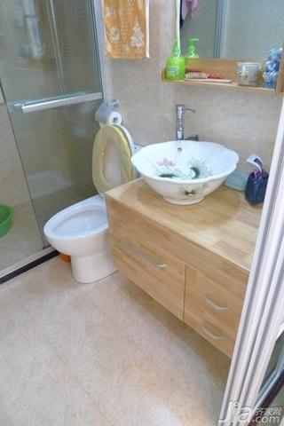 欧式风格二居室10-15万80平米卫生间洗手台图片