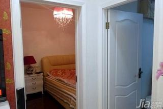 欧式风格二居室10-15万80平米设计图纸