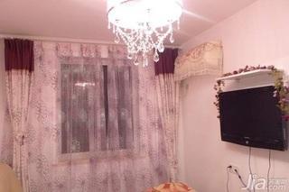 欧式风格二居室10-15万80平米卧室灯具图片