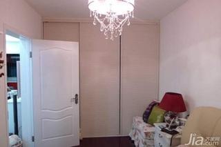 欧式风格二居室10-15万80平米卧室设计图纸