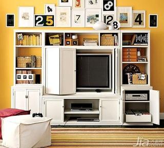 简约风格一居室3万以下50平米电视柜效果图