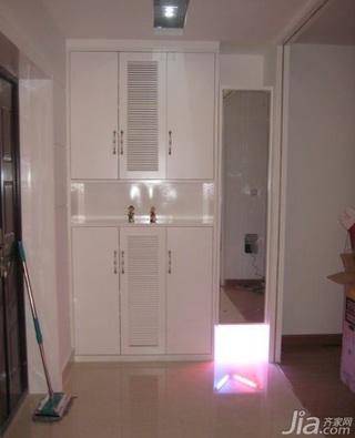 简约风格二居室5-10万50平米玄关鞋柜效果图