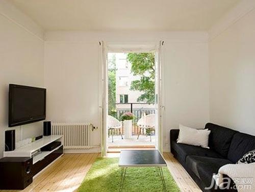 欧式风格小户型5-10万80平米客厅沙发效果图