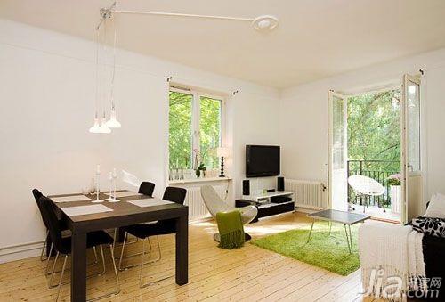 欧式风格小户型5-10万80平米餐厅餐桌图片