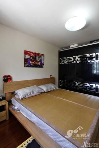 简约风格二居室5-10万90平米衣柜新房家居图片