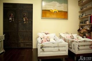 欧式风格复式古典豪华型140平米以上婴儿床图片
