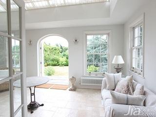 简约风格简洁白色5-10万100平米客厅沙发新房家装图