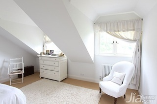 简约风格简洁白色5-10万100平米卧室新房家装图片