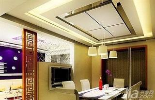 简约风格一居室3万以下50平米餐厅隔断餐桌效果图