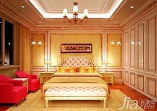 简约风格一居室奢华3万以下50平米卧室床新房家装图