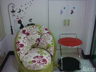 简约风格二居室5-10万60平米单人沙发图片