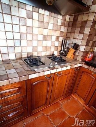 10-15万130平米厨房橱柜新房家装图