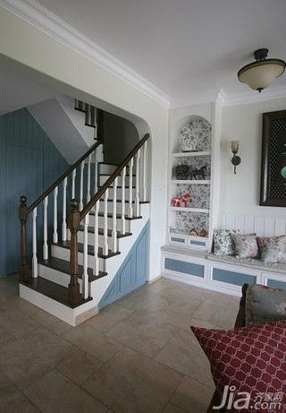 地中海风格别墅豪华型140平米以上楼梯新房平面图