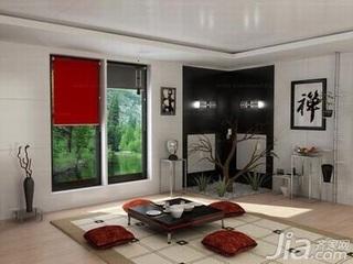 简约风格复式富裕型90平米客厅榻榻米新房家装图