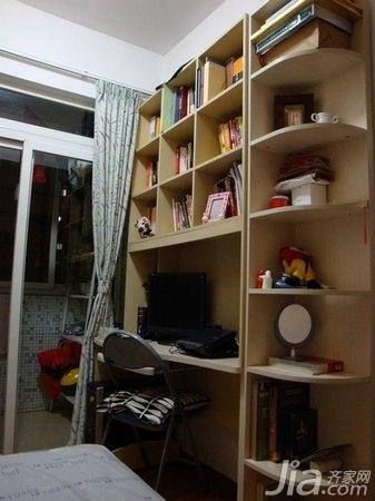 简约风格二居室5-10万60平米装修效果图