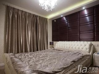 混搭风格二居室10-15万70平米卧室婚房平面图