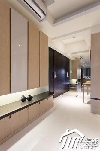 简约风格四房富裕型130平米玄关玄关柜图片