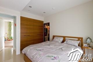 简约风格四房富裕型130平米玄关衣柜设计