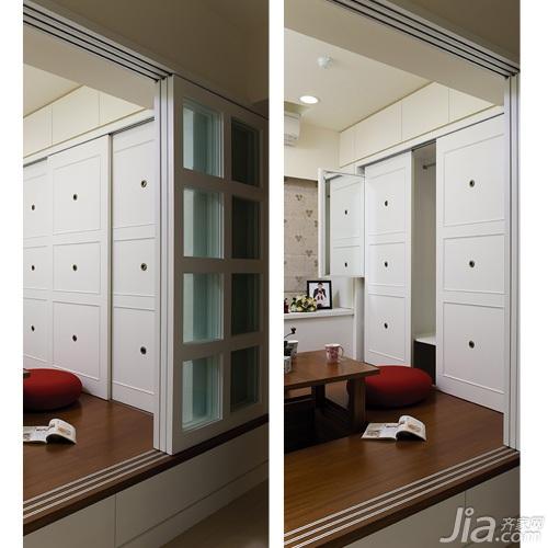 简约风格二居室5-10万90平米装修图片