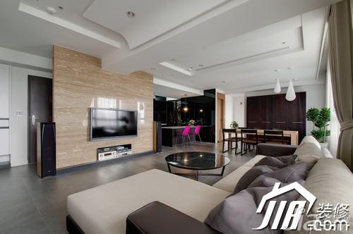 简约风格三居室富裕型玄关吧台沙发图片