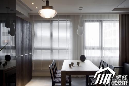 简约风格三居室富裕型玄关吧台餐桌图片