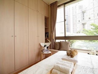 简约风格二居室60平米卧室衣柜安装图
