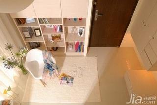 简约风格一居室40平米客厅灯具效果图