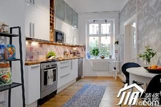 宜家风格小户型实用经济型厨房橱柜设计图