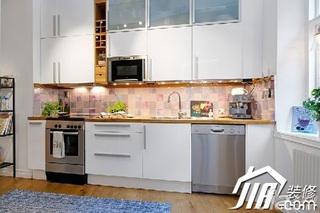 宜家风格小户型实用经济型厨房橱柜定制