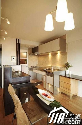 简约风格小户型经济型70平米厨房橱柜安装图