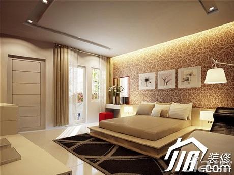 中式风格别墅装修效果图 中式风格公寓10-15万100平米客厅沙发背景墙