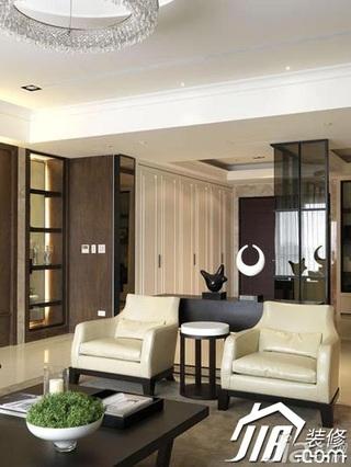 中式风格别墅140平米以上客厅沙发效果图