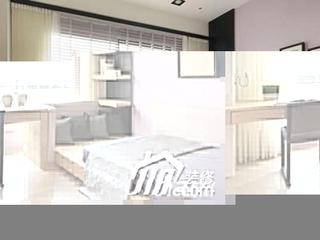 中式风格别墅简洁140平米以上卧室书桌效果图