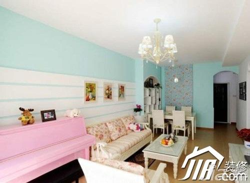 二居室5-10万80平米设计图
