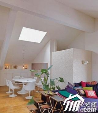 中式风格复式客厅沙发效果图