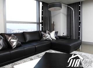 简约风格公寓富裕型100平米客厅灯具效果图