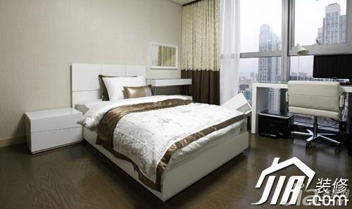 简约风格公寓富裕型100平米卧室书桌效果图