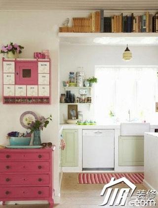 简约风格公寓实用豪华型120平米厨房橱柜定做