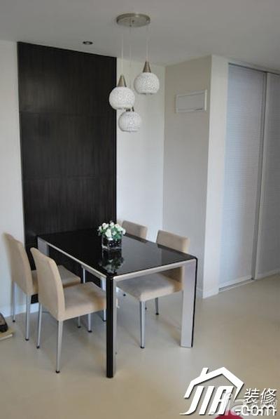简约风格二居室3万-5万90平米餐厅餐桌效果图