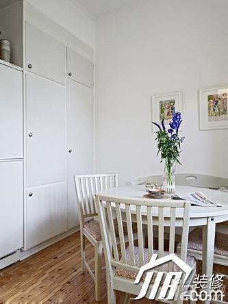 简约风格公寓经济型60平米餐厅橱柜设计图纸