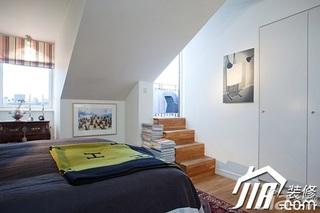 北欧风格小户型富裕型卧室装潢
