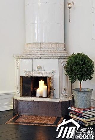 欧式风格别墅豪华型壁炉效果图