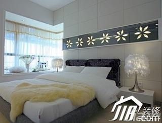 温馨5-10万110平米卧室飘窗床效果图