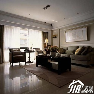 欧式风格公寓经济型110平米卧室隔断书桌效果图