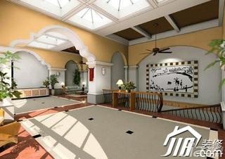 欧式风格复式豪华型楼梯效果图